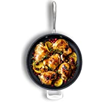"""Granite Stone 14"""" Nonstick Frying Pan with Ultra Durable Mineral and Diamond Triple Coated Surface, Family Sized Open…"""
