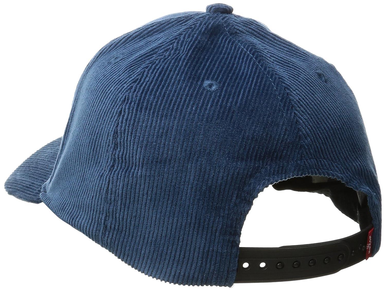 9770b053d3dd55 Levi's Men's Corduroy Baseball Cap, Navy, One Size at Amazon Men's Clothing  store: