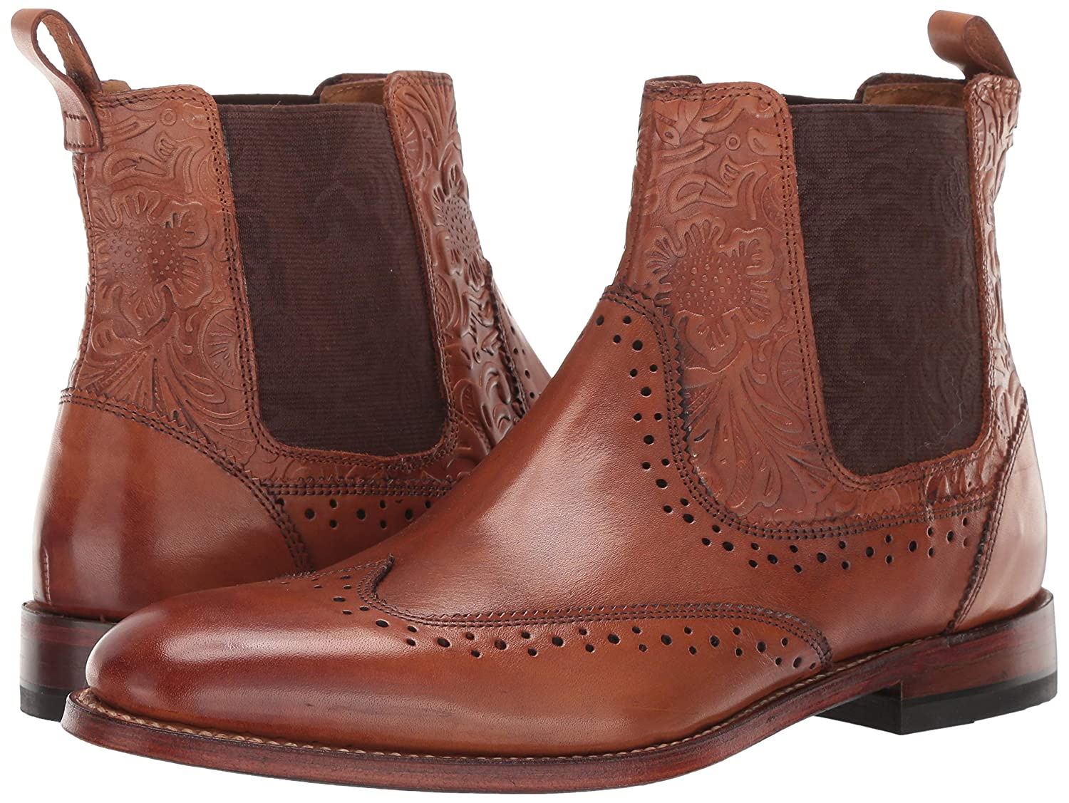 STACY ADAMS Mens M2 Wingtip Chelsea Boot