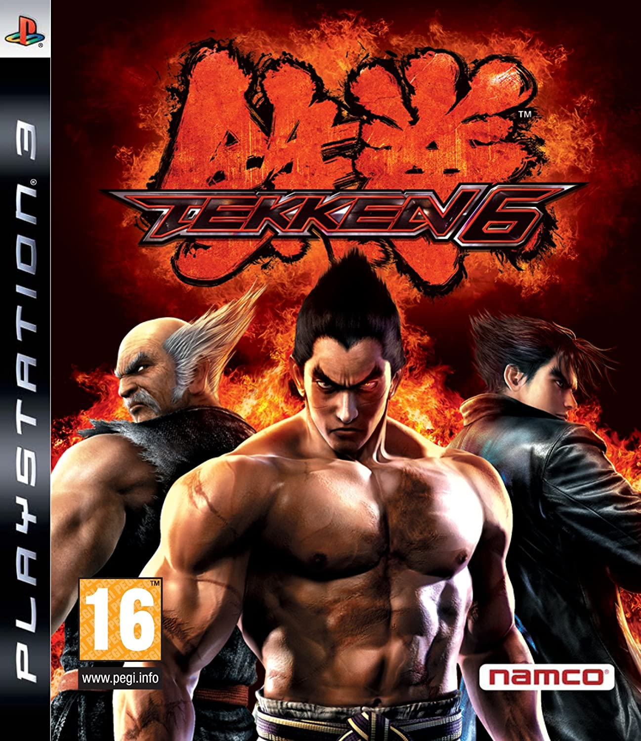 Amazon Com Tekken 6 Ps3 Video Games