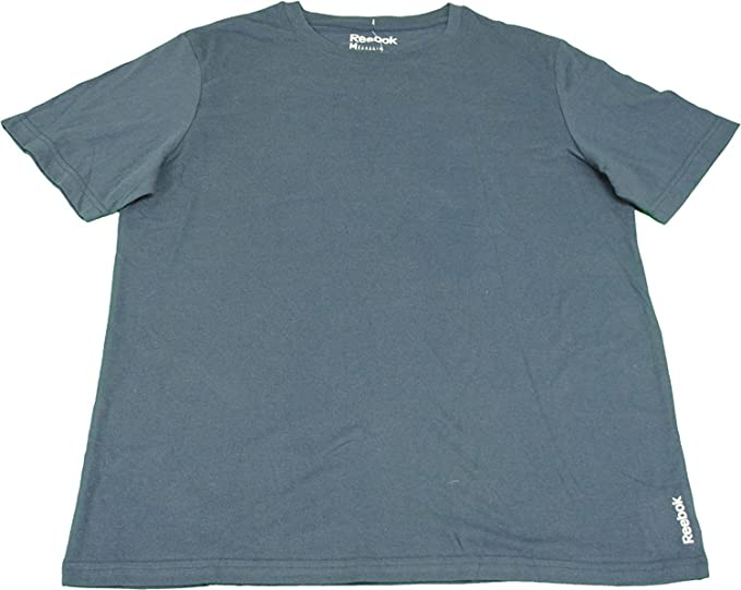 7190baa65318e7 Image Unavailable. Image not available for. Color: Reebok Men's Size Medium  Short Sleeve Crew Neck T-Shirt ...