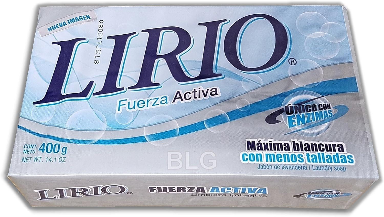 White Laundry Soap - 14.1 oz,(Lirio)