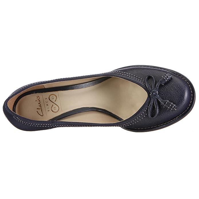 f54ae83266e6 Clarks Bombay Lights 20341945, Women s Pumps - Navy, 3.5 UK  Amazon.co.uk   Shoes   Bags