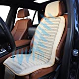 Cooling Cushion - Car Seat Cover - Built-In Electric Fan - NO MORE SWEATING 100% GUARANTEED (Legs and Back) - Universal Size