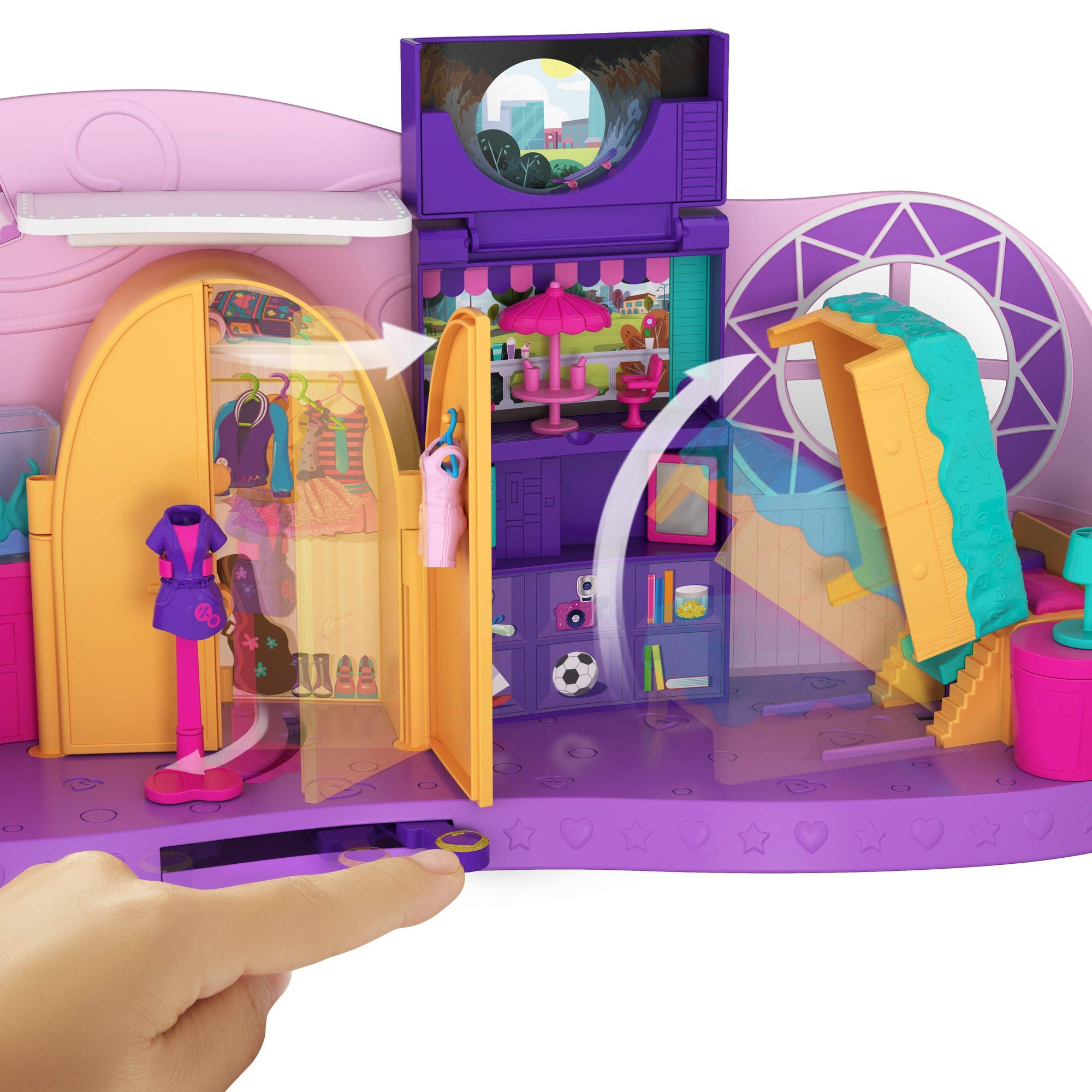 Polly Pocket Transformation Playset by Mattel (Image #3)