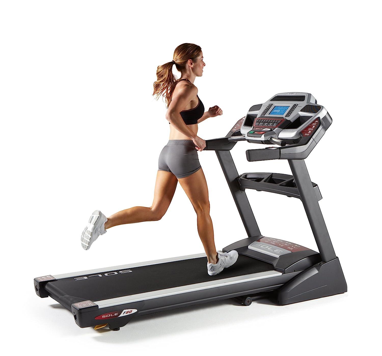 Sole Fitness F80 Folding Treadmill (Most Powerful)