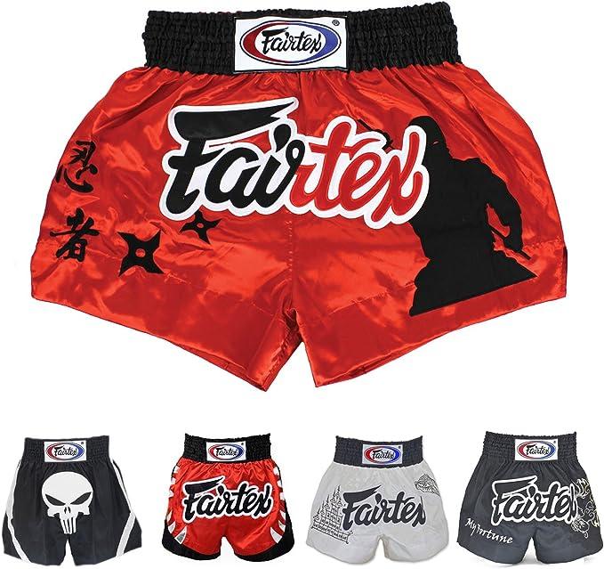 MMA Boxen FAIRTEX Thai Shorts BS0637  in weiß Thaiboxen