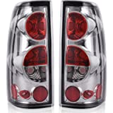 Taillights Tail Lamps Compatible with Chevy Chevrolet Silverado 1500 2500 3500 1999-2006 & 2007 with Classic Body Style…