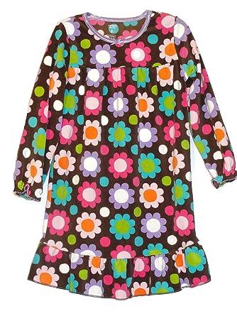 07fd0ca9e Amazon.com  Carter s Girl s Small Size 4 5 Fleece Brown Floral Print ...