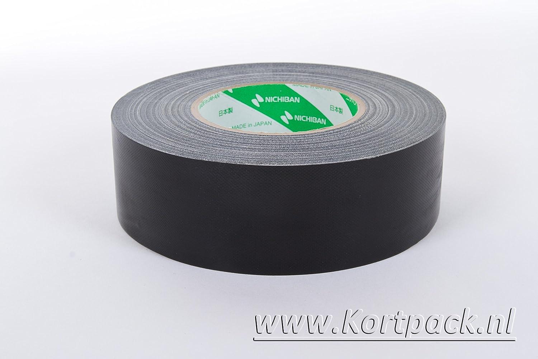 Nichiban Gaffa Tape 19mm X 50mtr Schwarz 1 Rolle Baumarkt