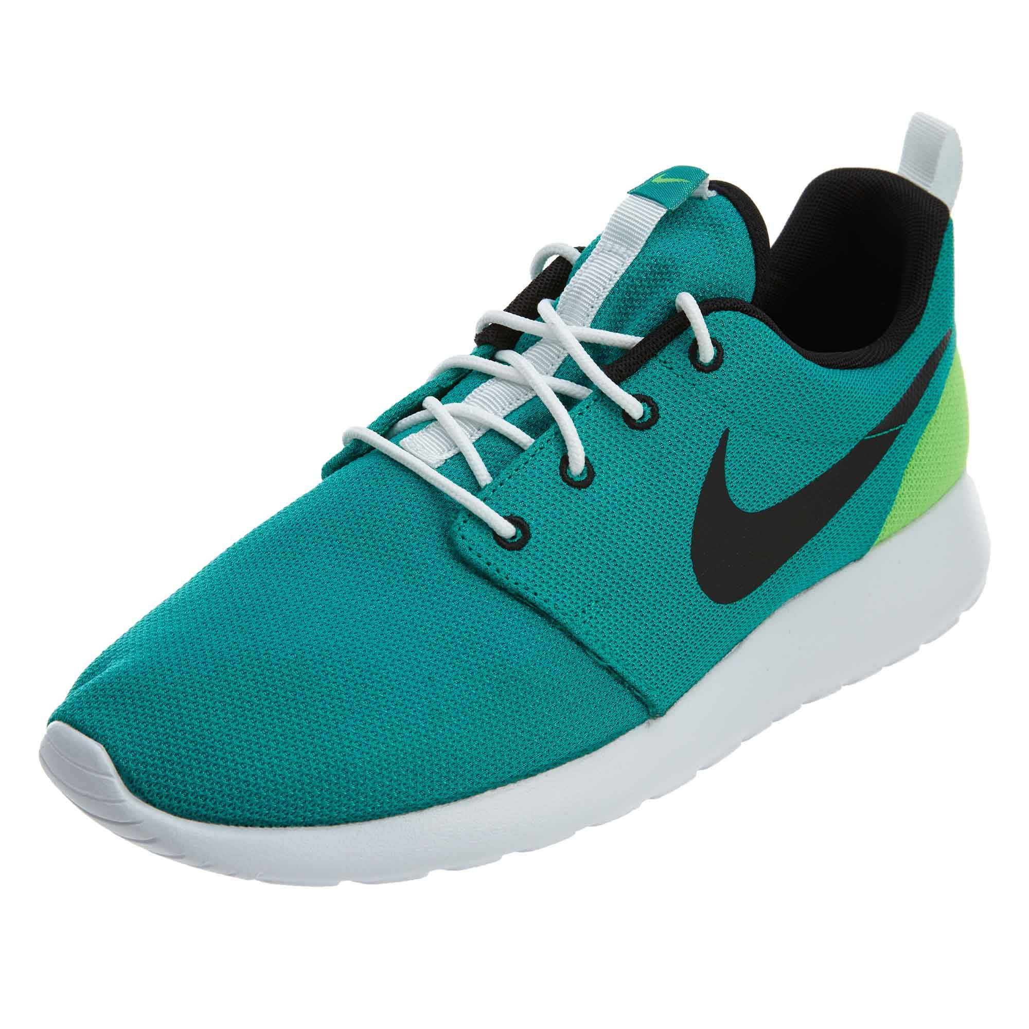 Galleon Nike Men's Roshe Run (12 M US, Neptune GreenBlack)