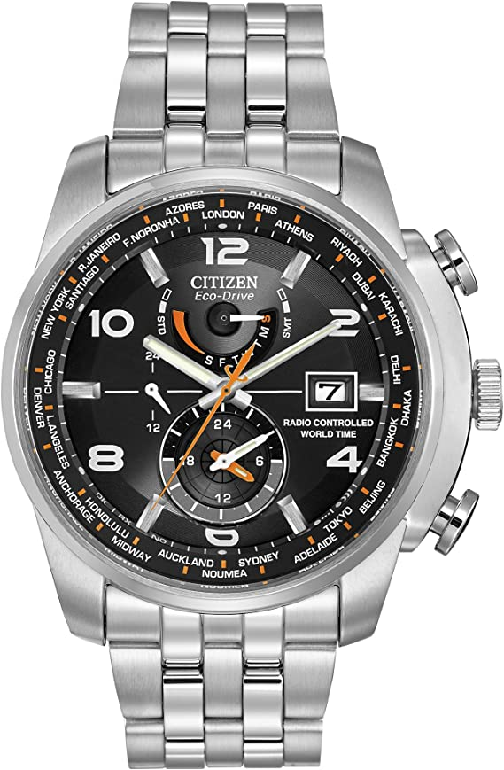 CITIZEN World Time AT Atomic AT9010-52E