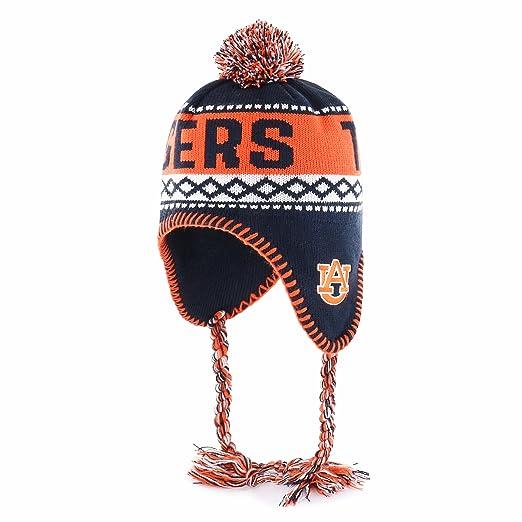 2cd428a107557d Amazon.com : NCAA Auburn Tigers Abenaki OTS Knit Cap with Pom, One ...