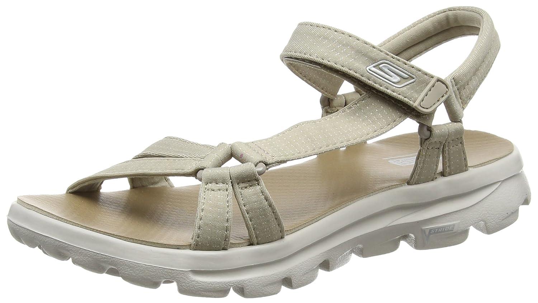 c7a5d221bd4 Skechers Women s Go Walk Move Heels Sandals  Amazon.co.uk  Shoes   Bags