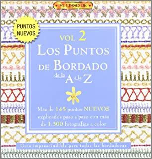 Los puntos de bordado de la A a la Z / A to Z of Embroidery