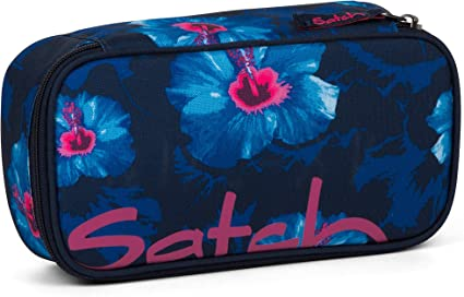 SATCH SCHLAMPERBOX Waikiki Blue 9L2 Pencil Case NEU