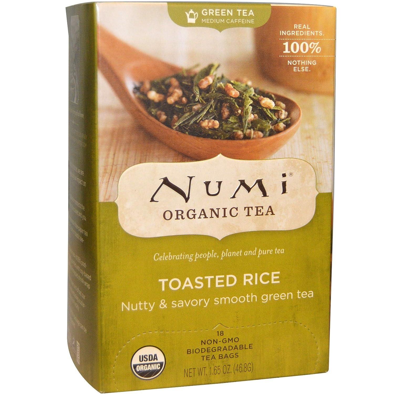 NUMI - Té Natural Arroz tostado - Té verde Suave y Sabroso ...
