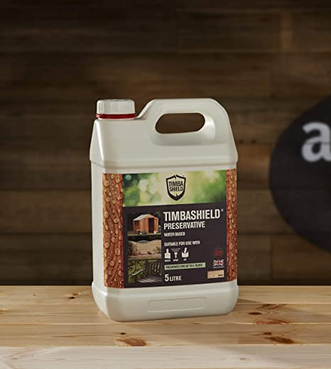 Timbashield Wood Preservative - Water Based Primer - Clear - 5 Litre
