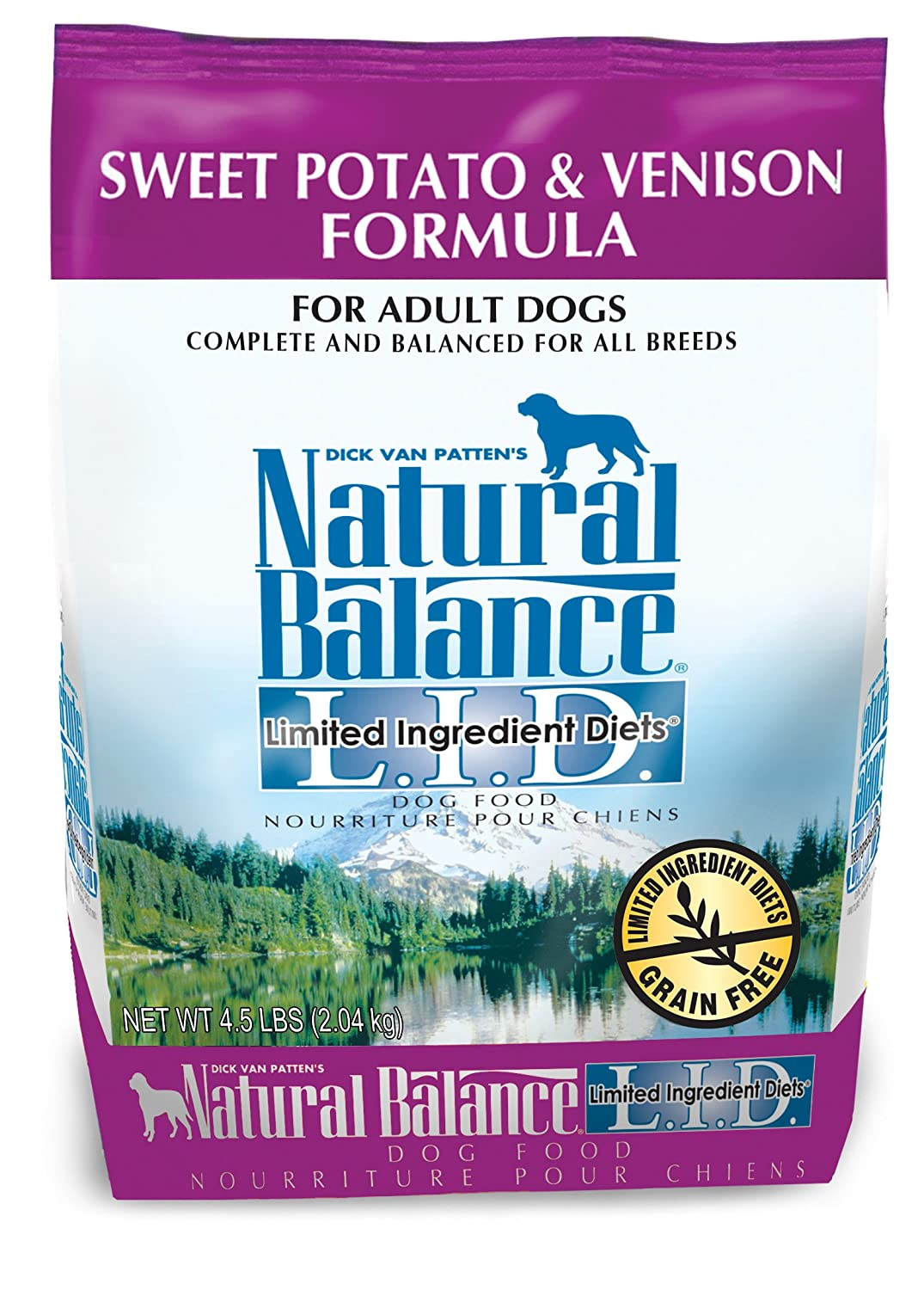 Natural Balance Limited Ingredient Sweet Potato & Venison Dry Dog Food