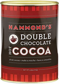 product image for Hammonds Cocoa, Double Chocolate, 6.25 Ounce