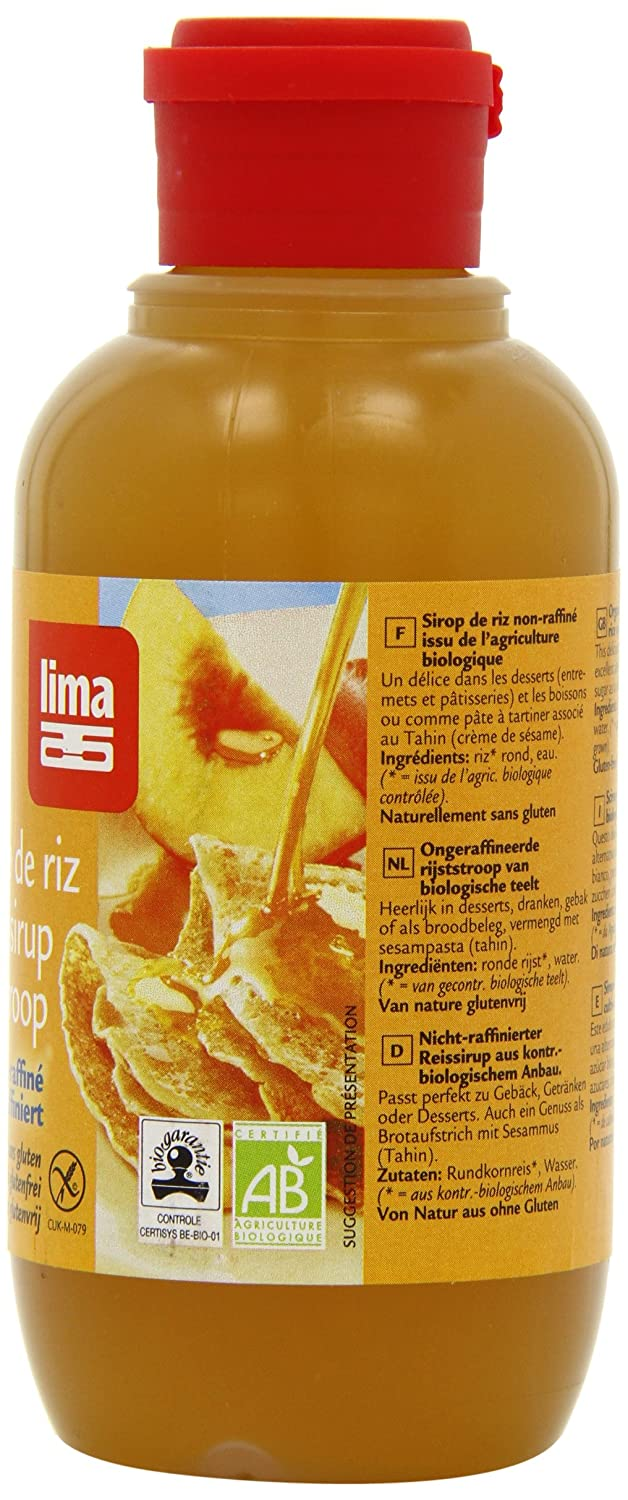Amazon.com : Lima Brown Rice Syrup 420 g (Pack of 2) : Grocery & Gourmet Food