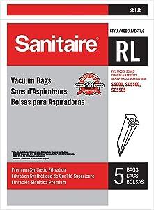 Sanitaire RL Synthetic Vacuum Bag, White