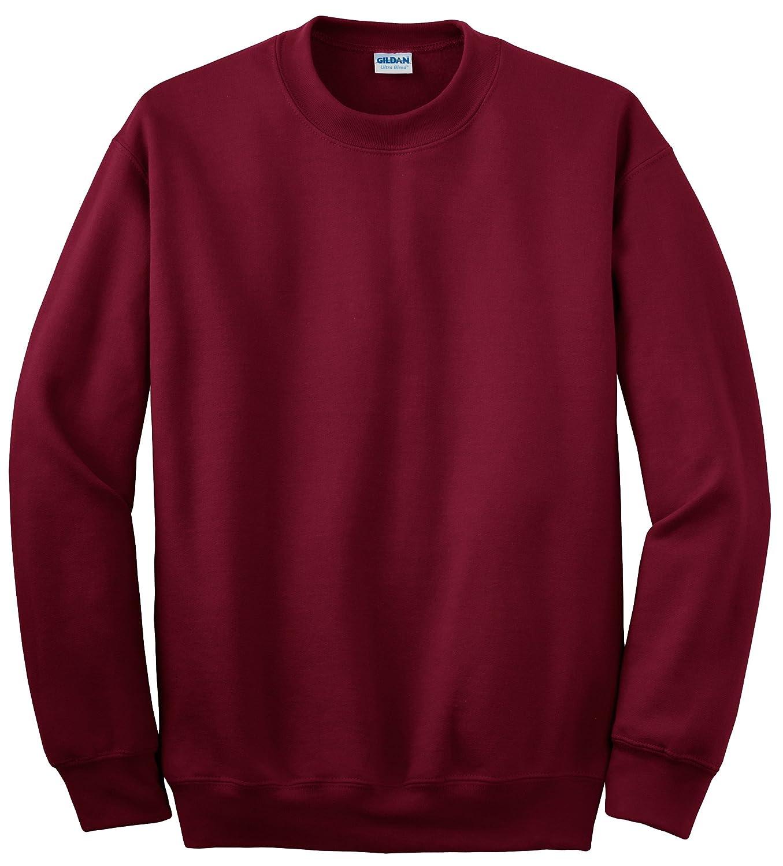 (ギルダン) Gildan ユニセックス ヘビーブレンド クルーネック 長袖スウェットシャツ トレーナー トップス B014WDL07C 4L|レッド(Cardinal Red) レッド(Cardinal Red) 4L