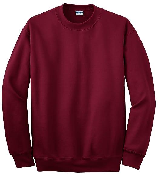 93da8294 Amazon.com: Gildan mens DryBlend 9.3 oz. 50/50 Fleece Crew(G120)-CARDINAL  RED-2XL: Clothing