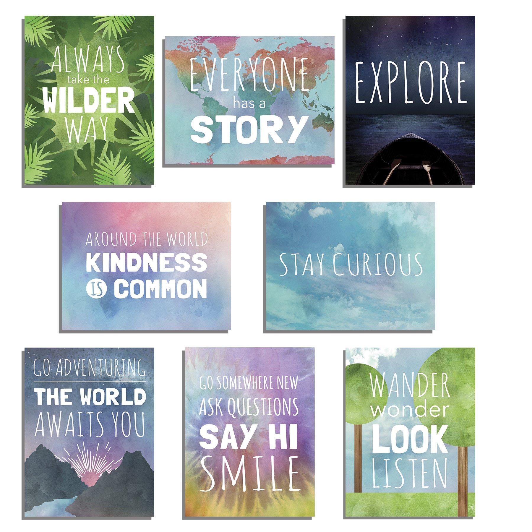 Amazon The World Mini Collection Wall Card Prints