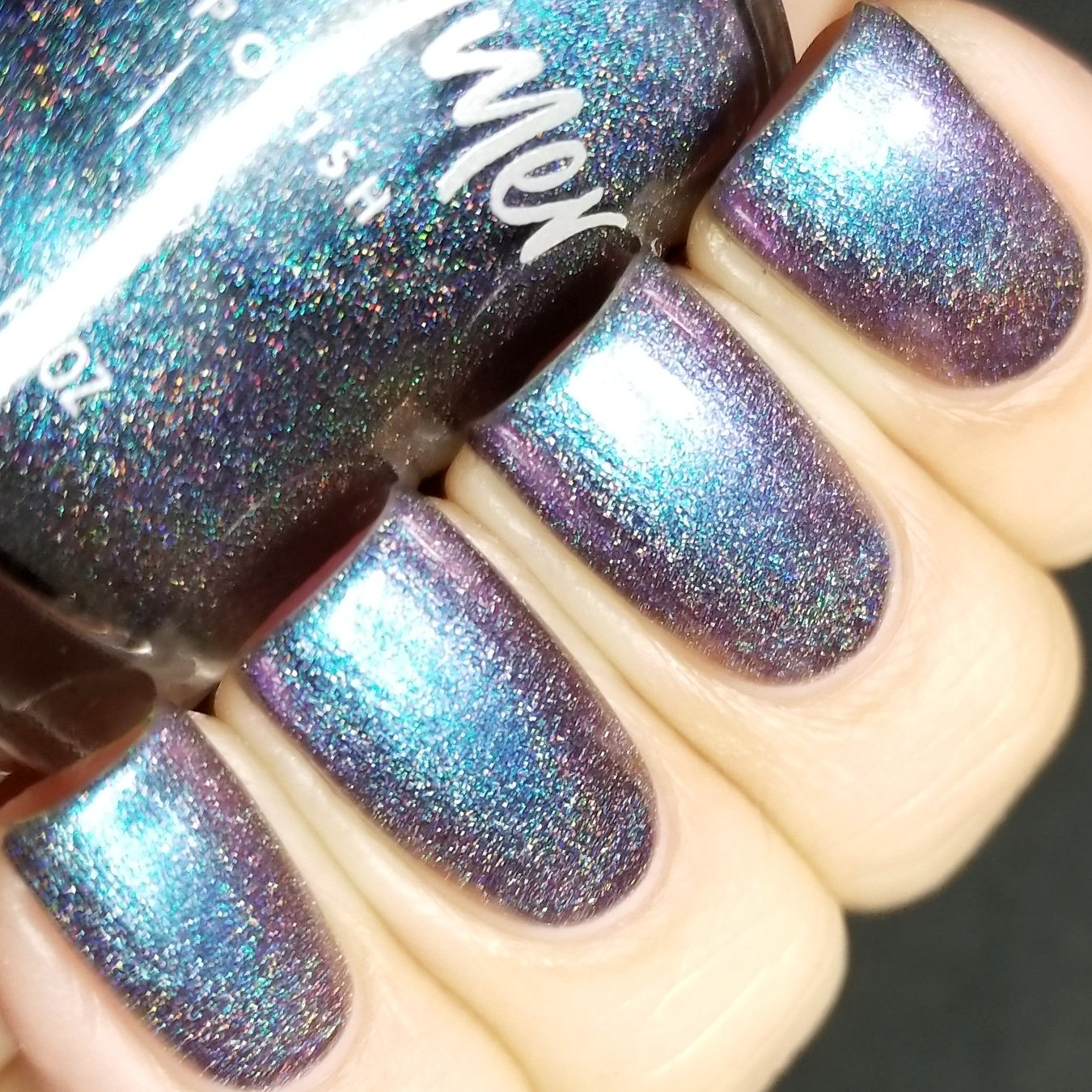 Amazon.com : Rollin\' With The Chromies Linear Holographic Nail ...
