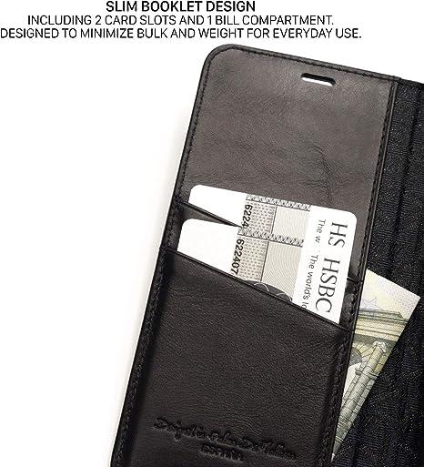 QIOTTI Coque Compatible avec iPhone Se I iPhone 5s I iPhone 5 /Étui en Cuir V/éritable I RFID Protection I Portefeuille en Cuir I Fentes pour Cartes I Coque Housse Etui en Gris