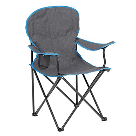greemotion Lido Silla de Camping Plegable, Gris: Amazon.es ...