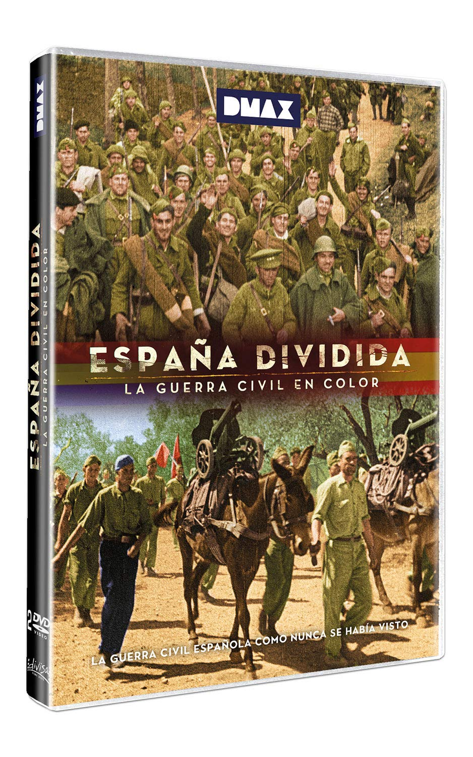 España Dividida - La Guerra Civil en color + La mirada de los historiadores DVD: Amazon.es: Documental, Francesc Escribano, Lluís, Documental: Cine y Series TV