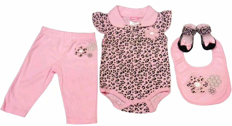 信頼 チーター印刷4 for Piece Set for Baby Girl 0 0 チーター印刷4 – 3 Months (Onesie、パンツ、靴下、よだれかけ) B00JB3X4N2, 薩摩菓子処とらや:8f52e099 --- a0267596.xsph.ru
