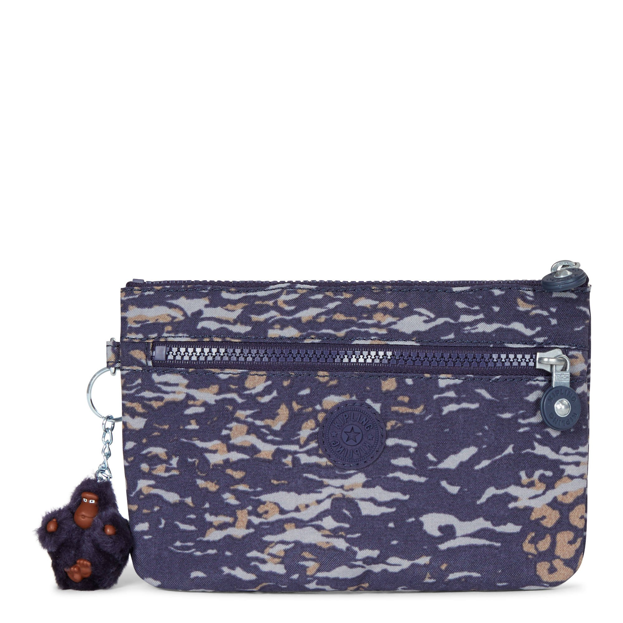 Kipling Women's Ness Small Printed Pouch One Size Water Camo