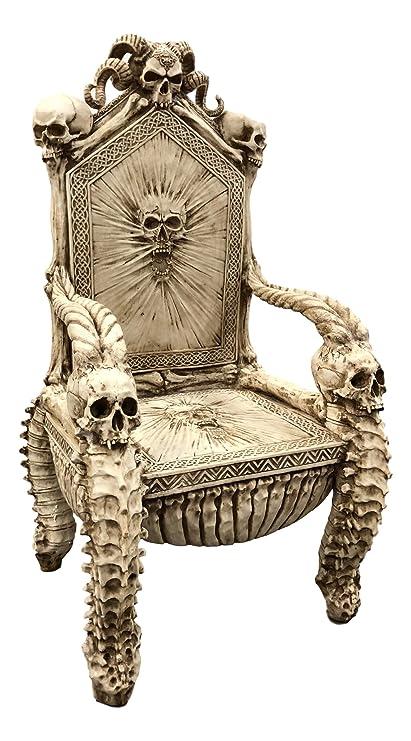 Amazon Com Ebros 56 High Fantasy Underworld White Walker Skeleton