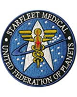 Superheroes Star Trek Medical Insignia 4
