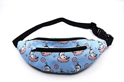 7ac9de9d094 Unicorn Fanny Pack for Kids & Teens, Donuts Kids Fanny Pack