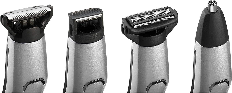BaBylissMEN MT861E Recortadora para cuerpo, barba, nariz y orejas de uso sin cable, todo en uno, 10 en 1, cuchillas de acero inoxidable, 70 min de autonomía: Amazon ...