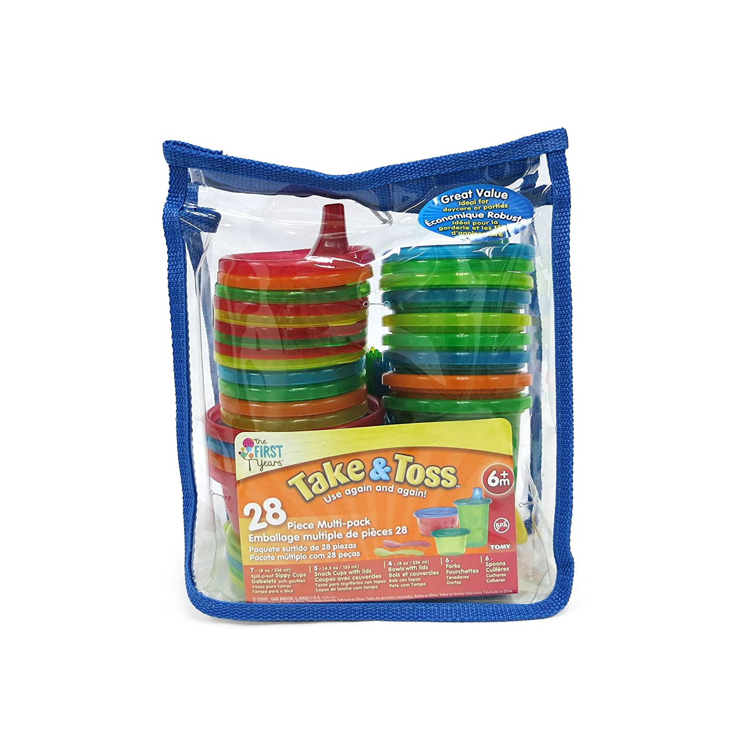 The First Years Take and Toss 28-Piece Feeding Variety Pack