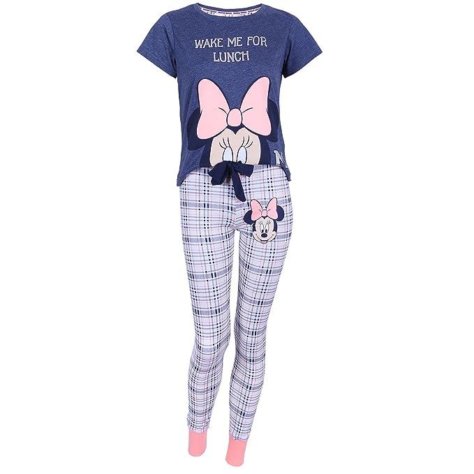 Disney - Minnie Mouse - Pijama - para mujer Azul azul