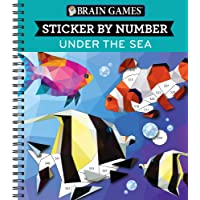 Brain Games - Sticker by Number: Under the Sea