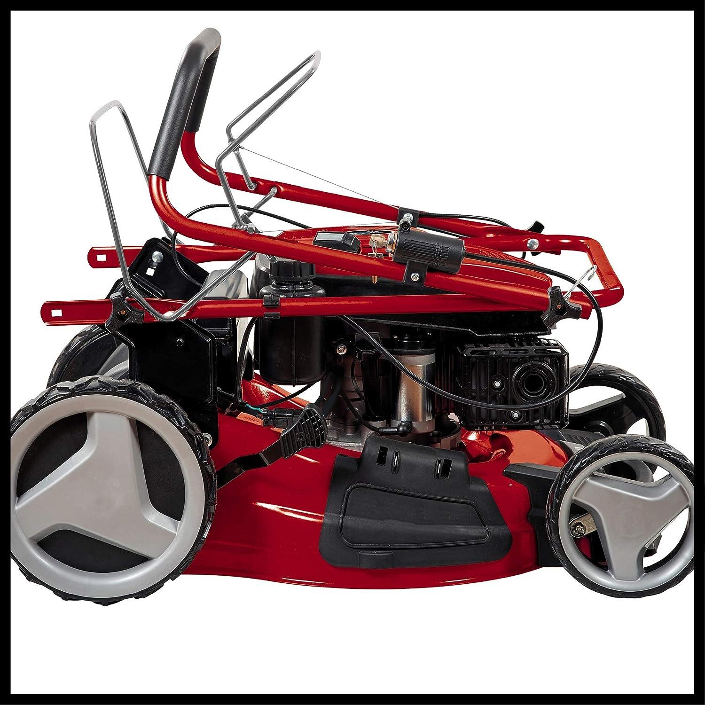 Einhell gasolina cortadoras de césped GC-PM 51/2 S HW-E (2,7 kW a 173 cm³, Schnittbreite: 51 cm, Schnitthöhenverstellung central: 6 escalones | 30-80 mm): Amazon.es: Bricolaje y herramientas