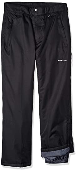 11227f52efac Arctix Men's Full Side-Zip Insulated Snow Pants, Black, Small