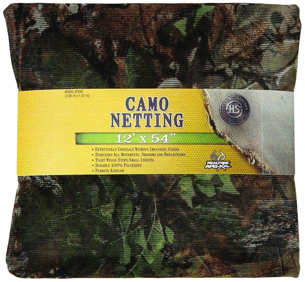 Hunter's Specialties Netting Xtra Green 54in x 15ft 07220