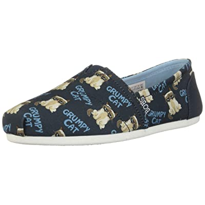 Skechers BOBS Plush Crabby Womens Slip On Flats | Shoes