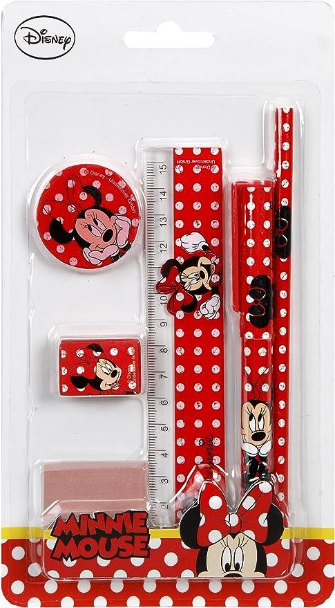 Undercover MINP2230 Disney Minnie Mouse Geschenkset 8-teilig rot