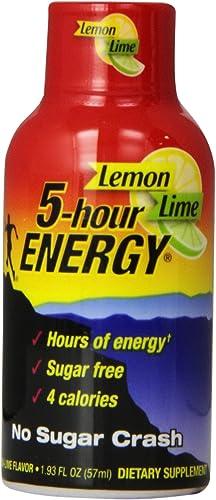 5-hour Energy, Lemon-lime, 2-Ounce Bottles Pack of 12