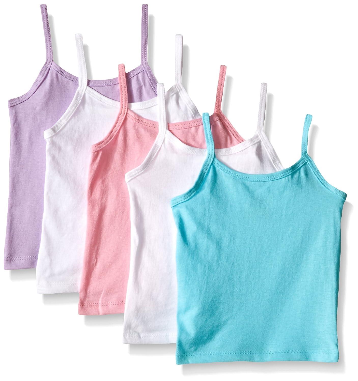 Hanes Girls' Cami Assorted 5-Pack 2/3 Hanes Girls 7-16 Underwear TV30A5 games