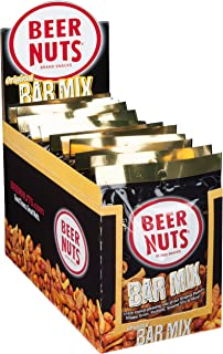 product image for BEER NUTS Original Bar Mix - 12-Count 1.9oz Single Serve Bags, Pretzels, Cheese Sticks, Sesame Sticks, Roasted Corn Nuts, and Original Peanuts